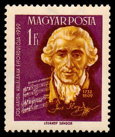 Haydn Stamp