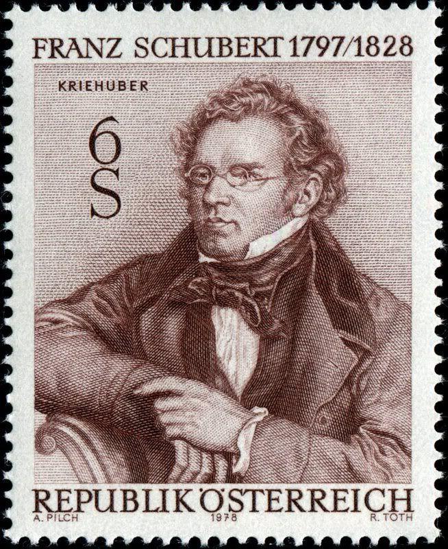 Schubert stamp