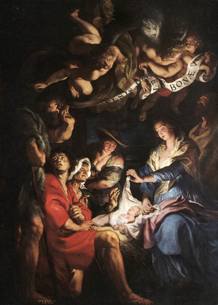Peter Paul Rubens, The Adoration of the Shepherds (1609)