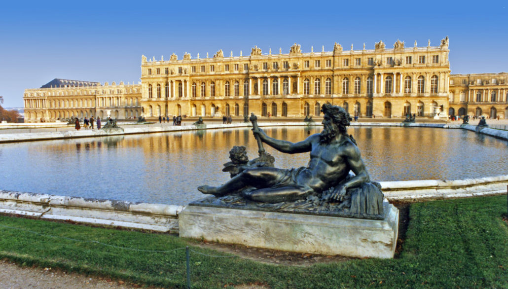 The Water Terraces at Versailles