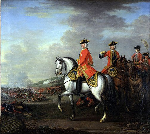 George II at Dettingen