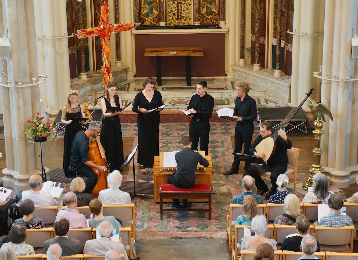 Musica Poetica in performance at Bath Recitals earlier this year