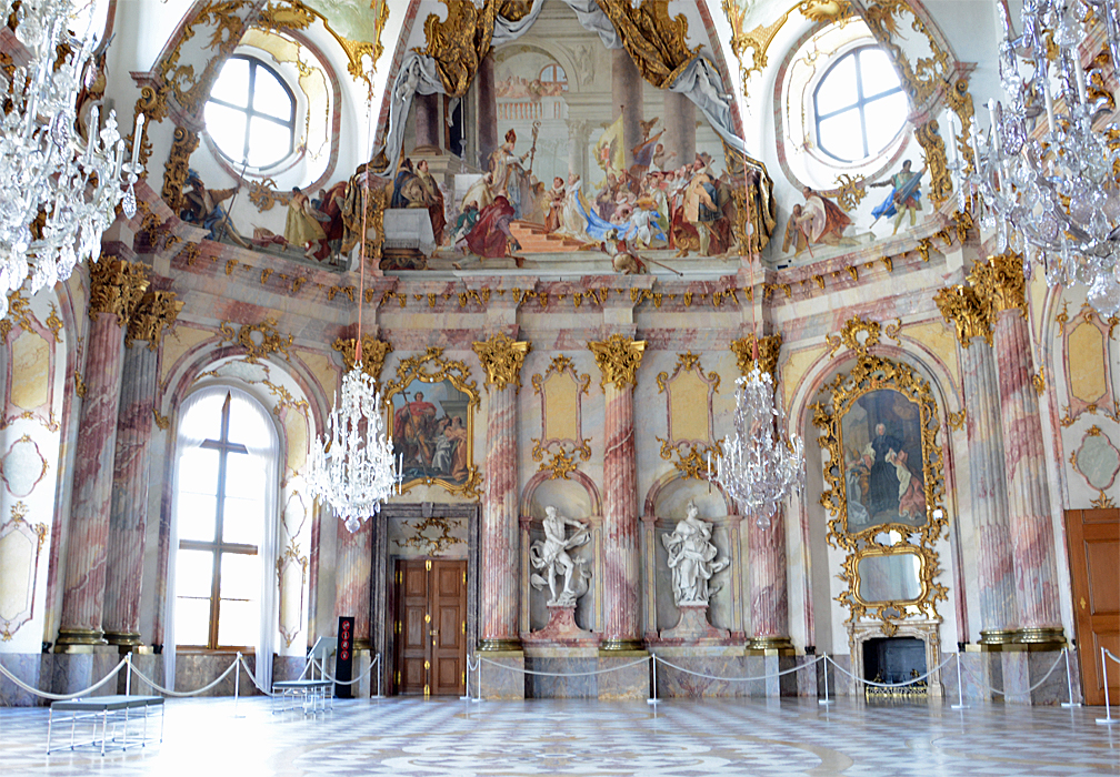 The Rococo Kaisersaal in Würzburg