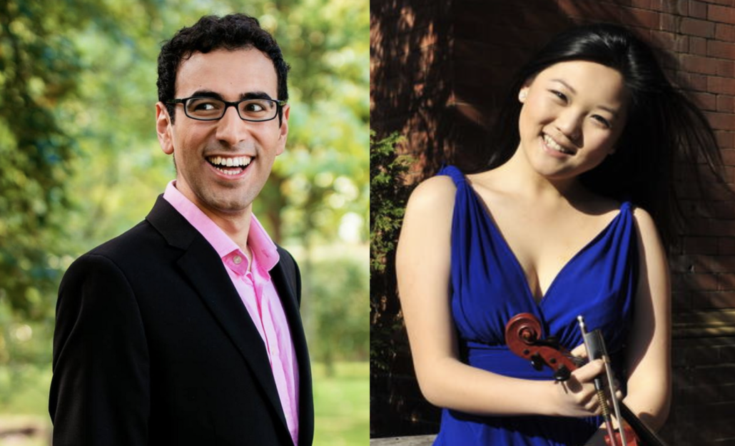 Gamal Khamis (piano) and Emily Sun (violin)