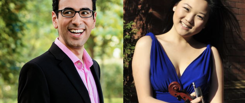 Gamal Khamis (piano) and Emily Sun (violin)